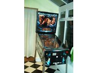 demolition man pinball machine. in great condition, perfect working order. owned by me for 15 years.