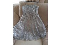 M&S girls sequins party dress
