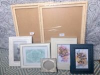 Photo frames of varying sizes for sale