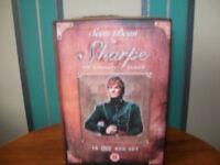 14 dvd box set Bernard Cornwell,s Sharpe