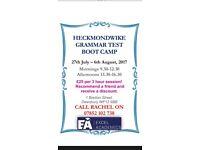 Heckmondwike Grammar Test Summer Boot Camp 11+ Maths & Verbal Reasoning Tuition £25 for 3 hours