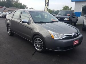 2010 Ford Focus safetied 129k pattersonauto.ca SE