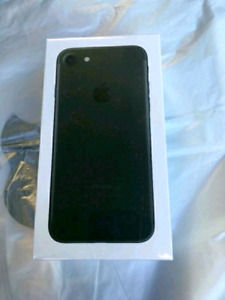 Sealed Box Brand New Matte Black iPhone 7 32GB With Warranty