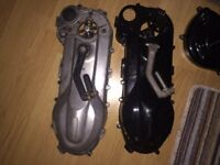 Gilera runner piaggio typhoon side cases complete with everything