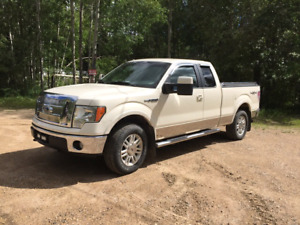 2009 F150 LARRIAT SUPER CAB