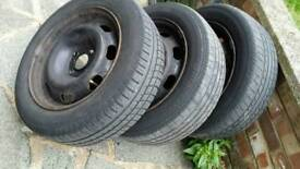 Wheels and tyres 185/60 R15