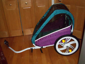 Remorque à vélo Orby chariot double