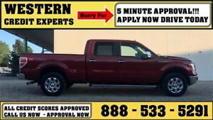 2013 Ford F-150 XLT XTR 4x4 ~ Easy Approval $0 down $222 B/W