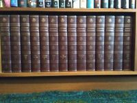 Encyclopedia Britannica - Set 1964 + Edition of Oxford Dictionary + Home Reading Guide + Study Guide