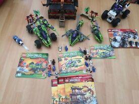 Lego Ninjago Bundle (5 Retired Sets included)