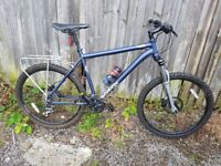 BARGAIN Used once 19inch frame mens voodoo mountain bike very new condition bargain