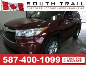 2015 Toyota Highlander Limited MONTH END SALE! CALL TAYLOR!