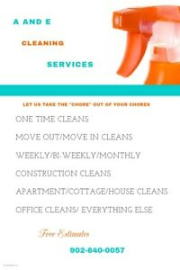A AND E Cleaning Service's