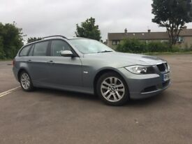 ESTATE FULLY AUTOMATIC BMW 320D SE TOURING ON 56 PLATE / FULL SERVICE HISTORY / WARRANTY AVAILABLE