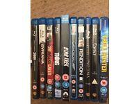 Bluray 10 Movie Bundle
