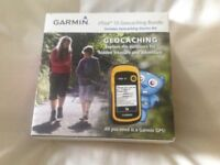 Garmin etrex 10 gps geocaching bundle.