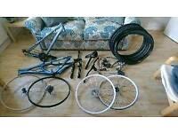 Bike project/parts bundle (prices and availability in description)