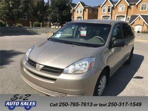 2004 Toyota Sienna 8 passenger-DVD-Bluetooth
