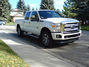2016 Ford F-350, top of the line with all the options, as new