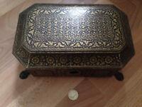 Rare Chinese sewing box 1800c. Beautiful ornate design