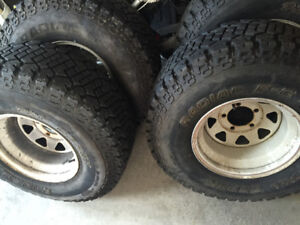 Great condition tires with rims