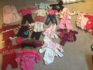 3-6 months clothing lot- girls