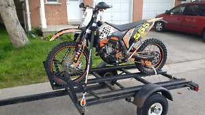 ktm xcf 250 blue plated