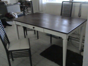 kitchen table - solid wood