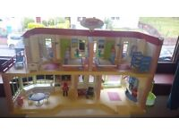PLAYMOBIL HOTEL (Used condition- bought 1 year ago)