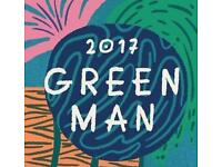 Green Man adult and child ticket
