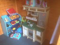 Childs mini kitchen full set