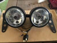 Twin Dominator Headlights