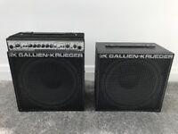 Gallien Krueger MB150E III Bass Amplifier + Extension Cabinet
