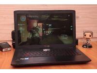 Gaming laptop ASUS ROG GL552V Mint + FREE new BAG