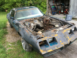 1980 FIREBIRD parts car