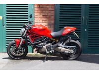 Ducati monster 821 - mint condition