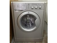 £140 Silver Indesit Washer Dryer - 6 Months Warranty