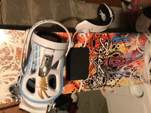 Women's Board with bindings and Boots, great condition