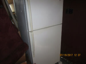 Stove and refrigerator for sale Garage Sale Sat  July 22/17