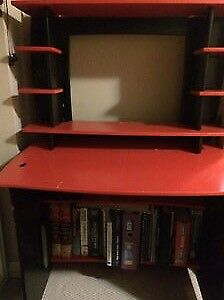 MOVING SALE-Computer Desk and Book Shelf