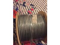 SY BRAIDED TRANSPARENT 3C X 2.5MM X 100M CABLE DRUM