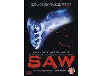 DVD bundle - Horror (Saw, Shutter & 28 Weeks Later)