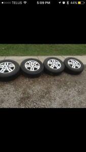 Honda CRV Rims with tires