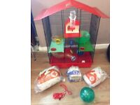 Large hamster/small rodent house