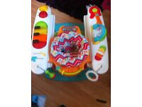 Fisher price stand and play piano
