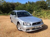 2002 Subaru Legacy 2.0 GL Sport AWD Estate Silver - Fantastic Work Horse - Bargain!