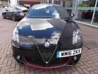2016 Alfa Romeo Giulietta 1.4 TB MultiAir 150 Speciale 5dr Petrol black Manual
