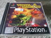 PlayStation 1 game TANK RACER