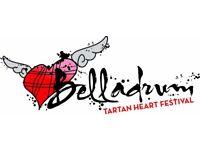 3 day camping Belladrum Tartan Hearts Festival ticket 2017