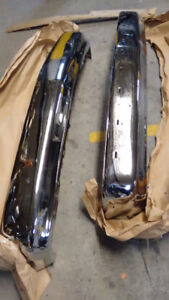 CHEVY+GMC PICKUP BUMPERS FRONT CHROME